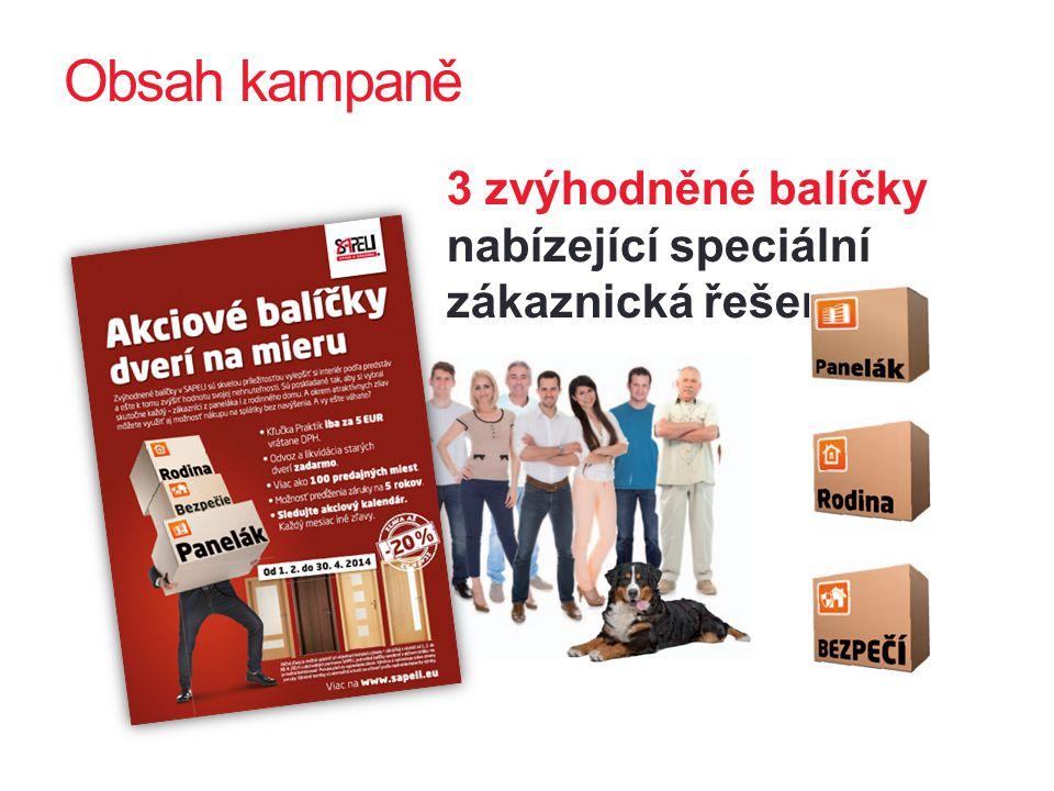 Další komunikační témata kampaně  Nejen komfort, ale i skvělá investice.