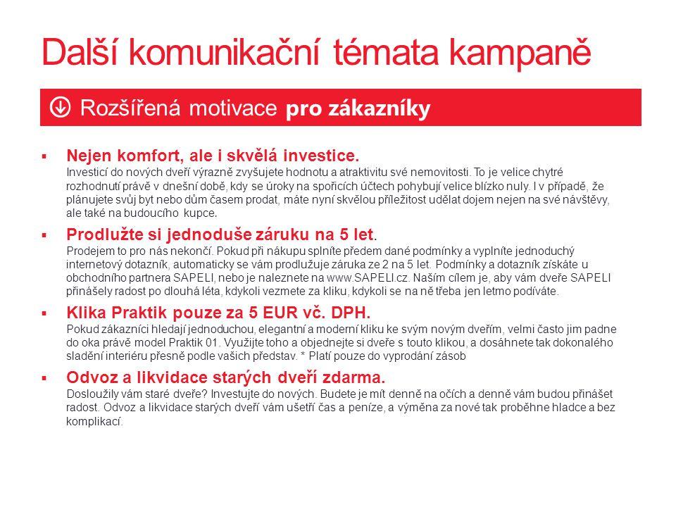 Termíny platnosti akce pro MOPS: datum dostupnosti akce pro referentky SAPELI: Únor - 10.