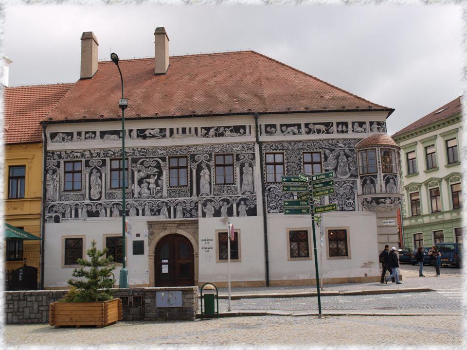 Malovaný dům byl postaven koncem 16.