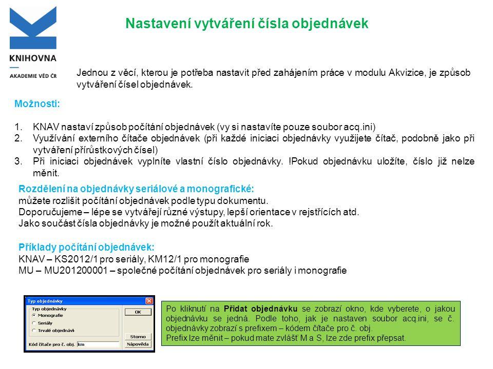 Formulář objednávky - Karta 2.