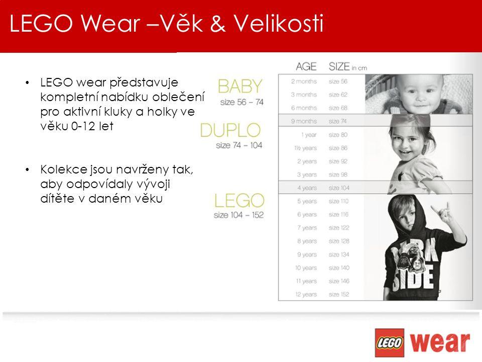 LEGO Wear – Náměty, téma, řady