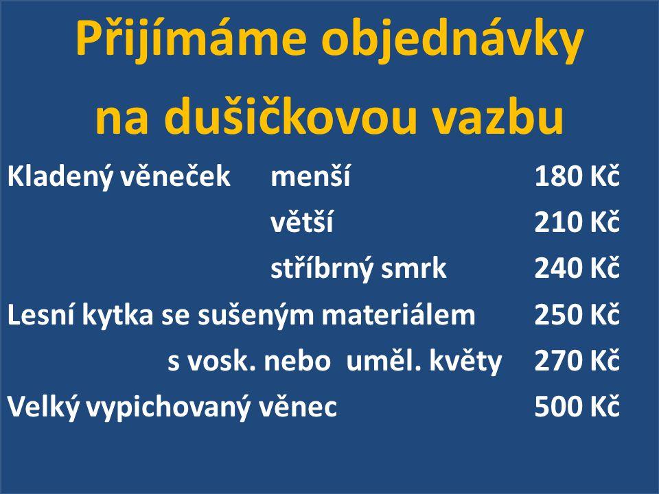 Předplatné na zájezd do divadla v Boleradicích v rámci Jarní divadelní sezóny ve výši 300,-Kč se bude platit u paní E.