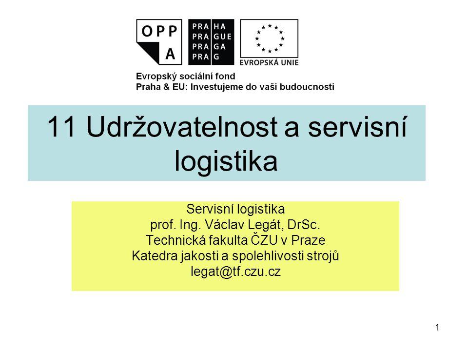 2 Úvod Servisní logistika je součástí managementu údržby a věnuje se řízení materiálových a informačních toků v procesech údržby.