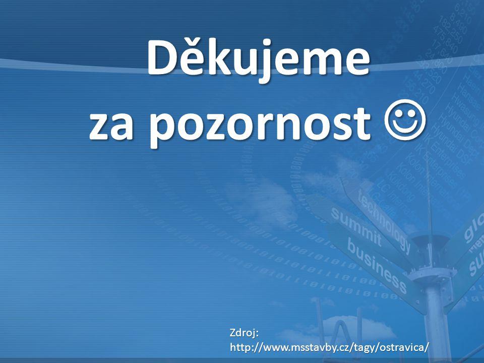 Děkujeme za pozornost za pozornost Zdroj:http://www.msstavby.cz/tagy/ostravica/