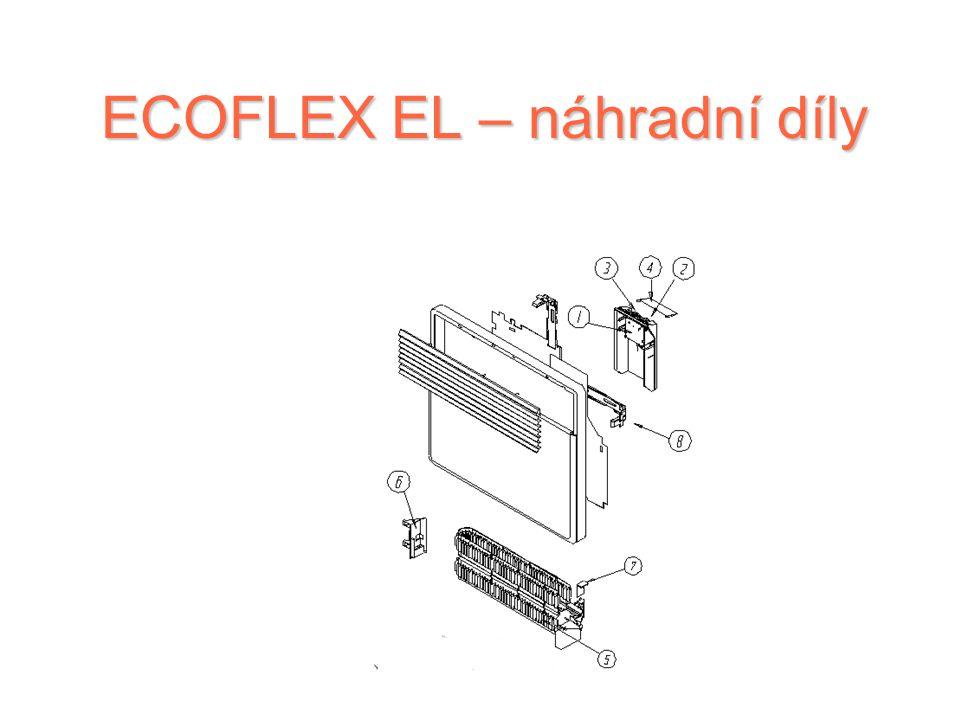 Řada ECOFLEX EL ECOFLEX EL (TYP TACTIC ET ) TACTICET 500 W TACTICET 750 W TACTICET 1000 W TACTICET 1250 W TACTICET 1500 W TACTICET 1750 W TACTICET 200