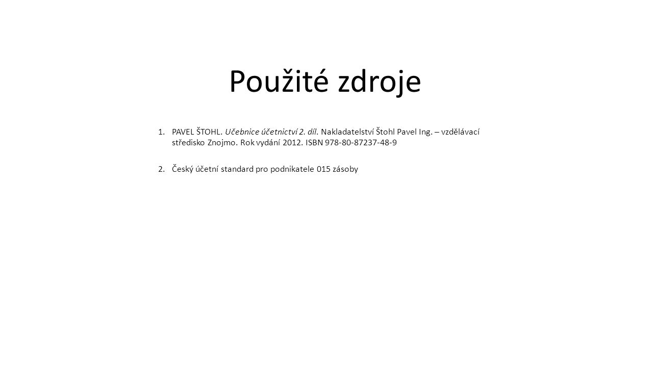 1.PAVEL ŠTOHL. Učebnice účetnictví 2. díl. Nakladatelství Štohl Pavel Ing.