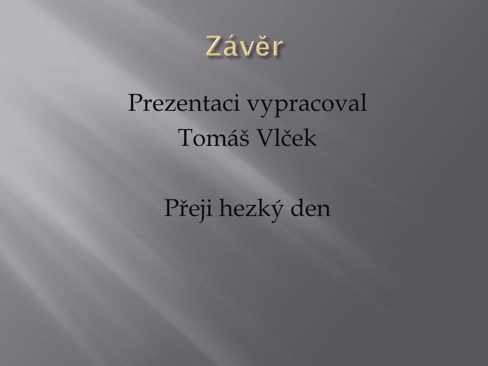 Prezentaci vypracoval Tomáš Vlček Přeji hezký den