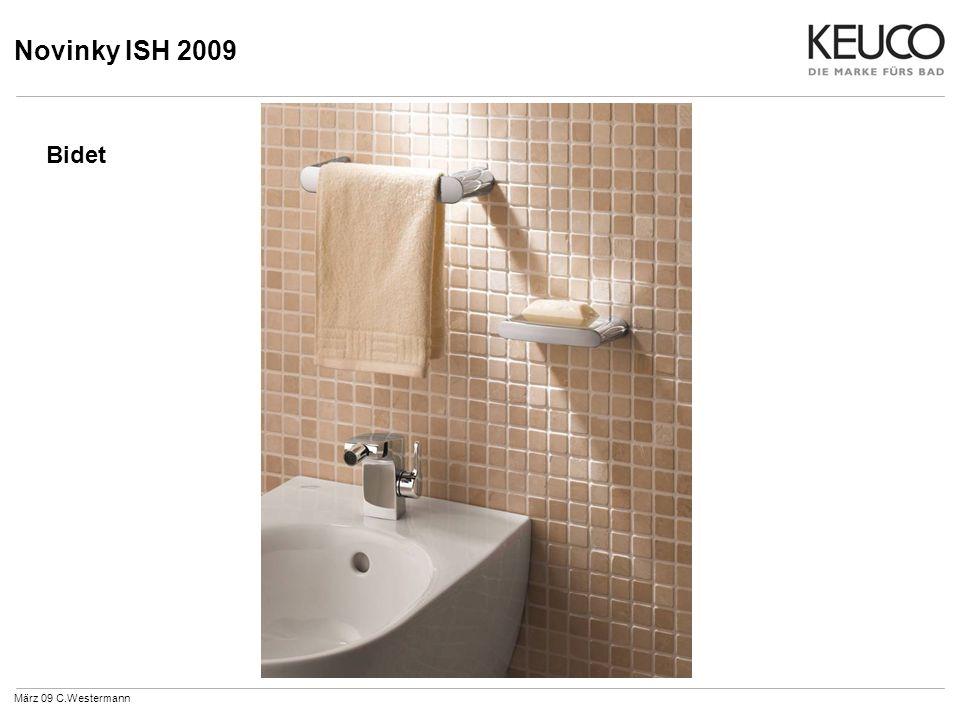 Novinky ISH 2009 Sprchová kombinace s vanovou směšovací armaturou je obzvláště vhodná pro kombinaci sprchy s vanou.
