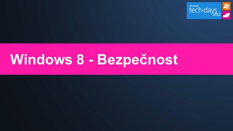 Windows 8 - Bezpečnost