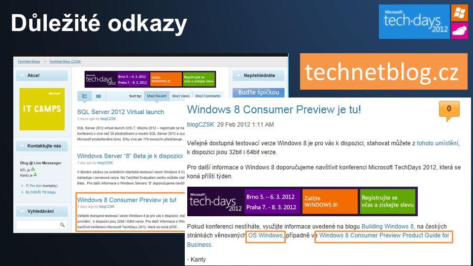 Důležité odkazy technetblog.cz
