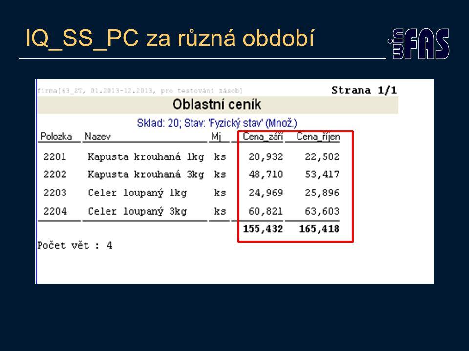 IQ_SS_PC za různá období
