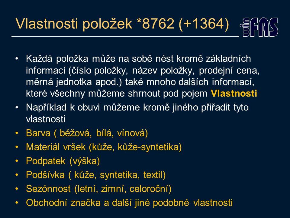 Kusovník (*5554) Předpis pro výrobu položky Výčet surovin, nákladu na zpracování a balícího materiálu