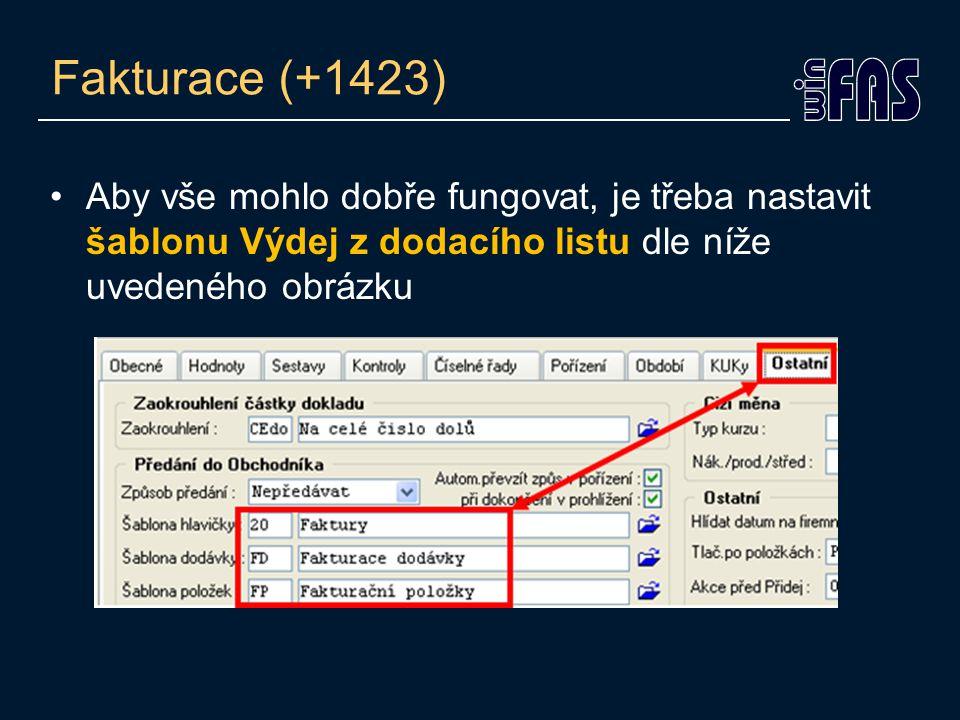 Fakturace (+1423)