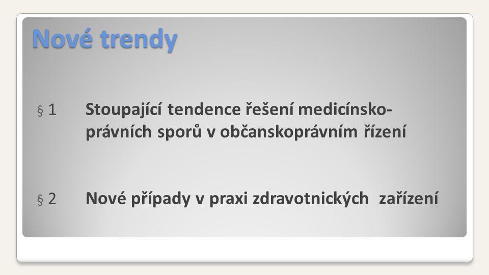 Sféra chyb Prakticky v celém procesu poskytované zdravotní péče Nové standardy SAK ČR