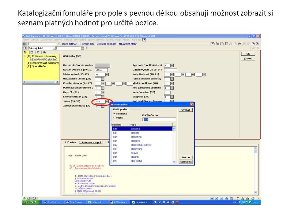 K přístupu ke Správci úloh již neslouží jedna z voleb menu ALEPH, ale ve všech modulech je tato funkcionalita umístěna v kartě Správa.