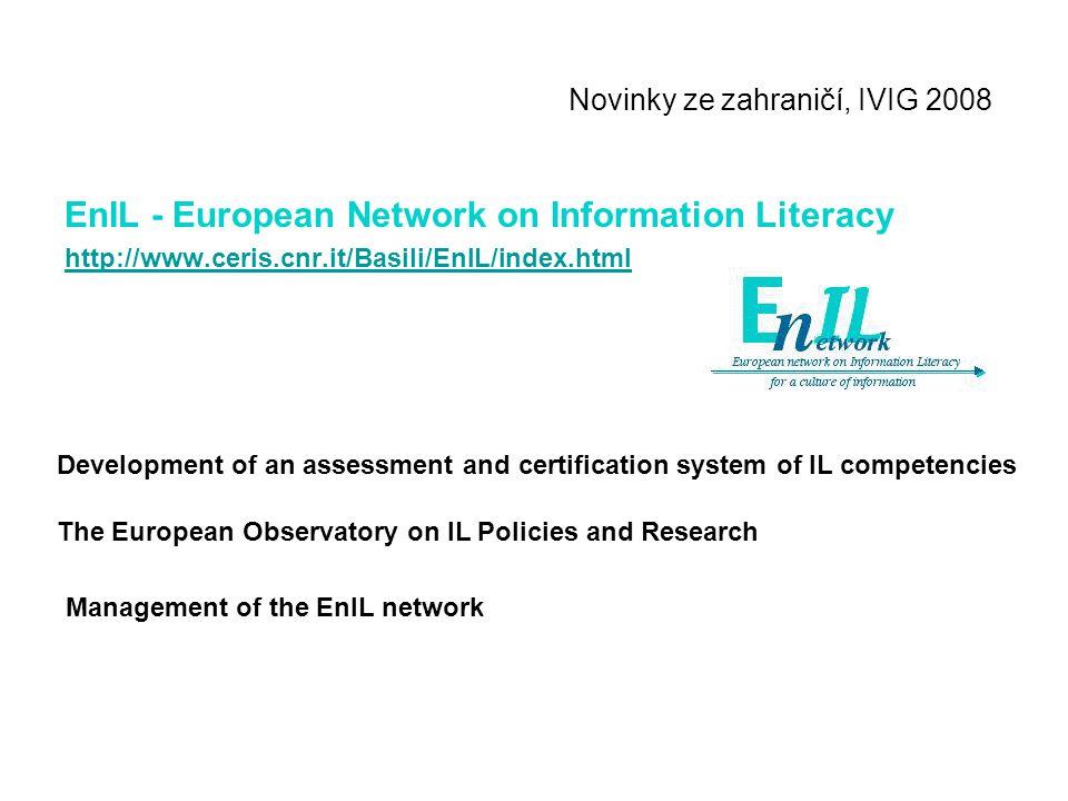 Novinky ze zahraničí, IVIG 2008 EFIL - European Forum for Information Literacy Second Life Inside EFIL building