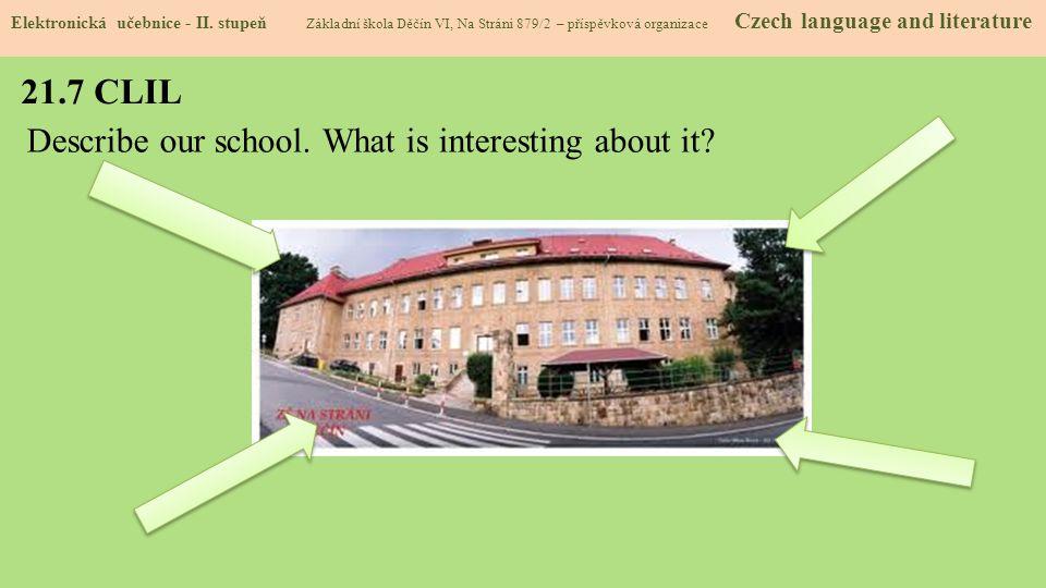 21.8 Test znalostí Správné odpovědi: 1.c 2.d 3.a 4.c Test na známku Elektronická učebnice - II.