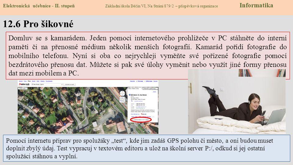 12.7 CLIL – Digital technology Elektronická učebnice - II.