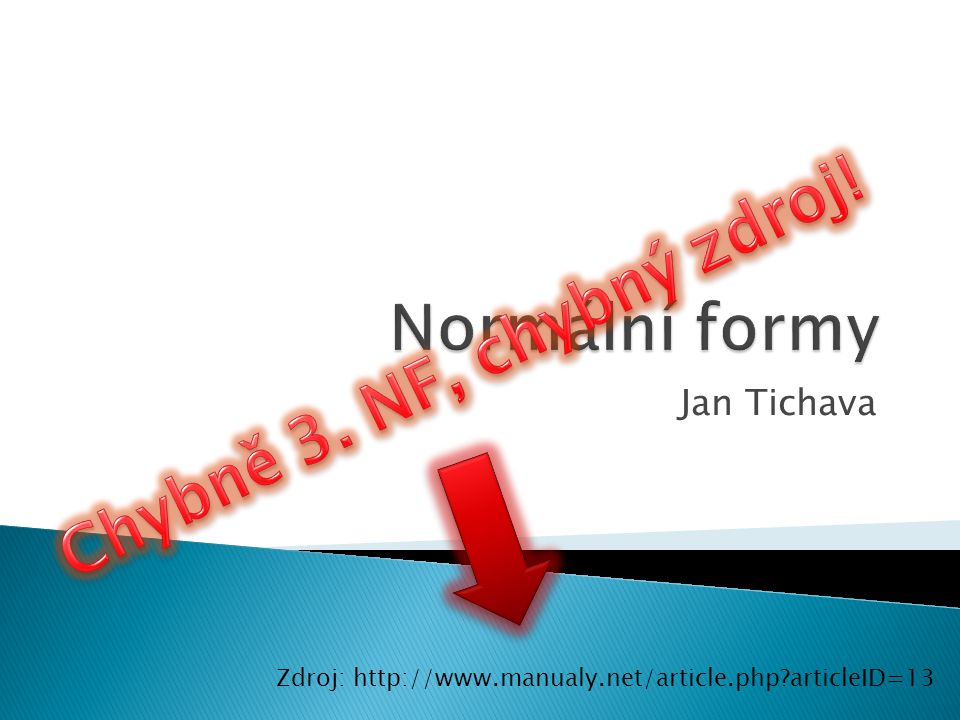 Jan Tichava Zdroj: http://www.manualy.net/article.php?articleID=13