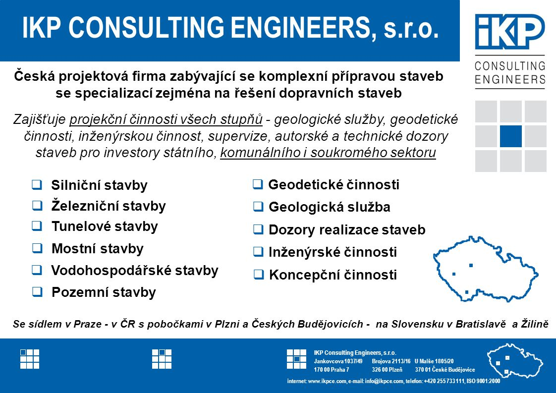IKP Consulting Engineers referenční list projektu IKP CONSULTING ENGINEERS, s.r.o.