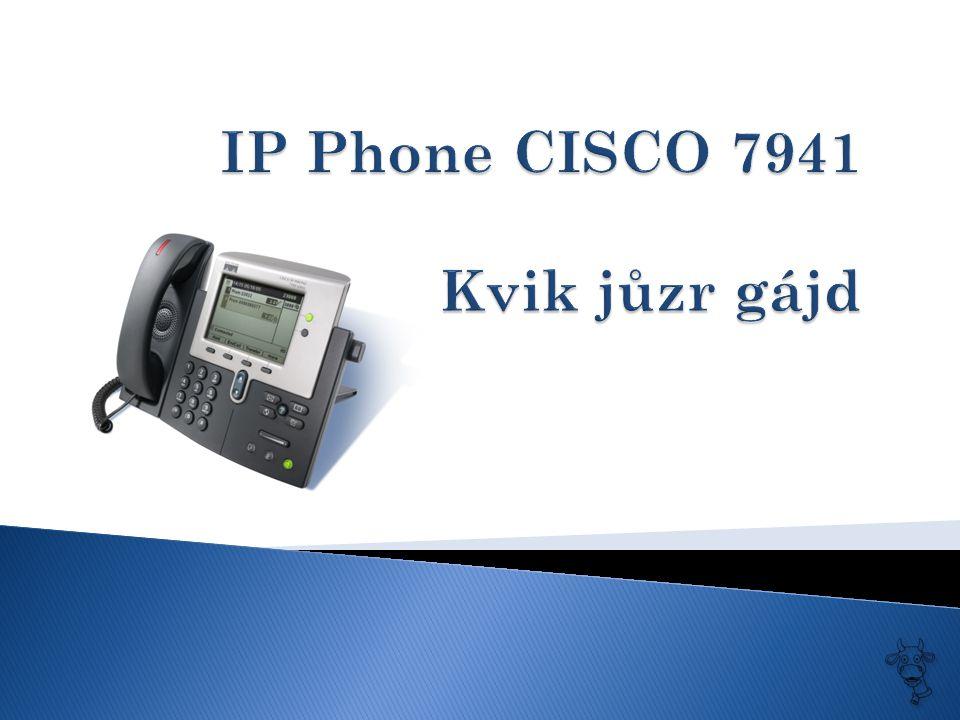  1 - vaše telefonní číslo  2 - tlačítko, kterým se dá zvolit linka, v případě, že používáme více než jedno číslo  3 – význam funkčních kláves  4 – funkční klávesy  5 - …  6 – výběr položek  7 – přístup do výpisu volání  8 – hlasitost ( v případě zavěšeného sluchátka reguluje hlasitost zvonění, během hovoru reguluje hlasitost sluchátka, resp.