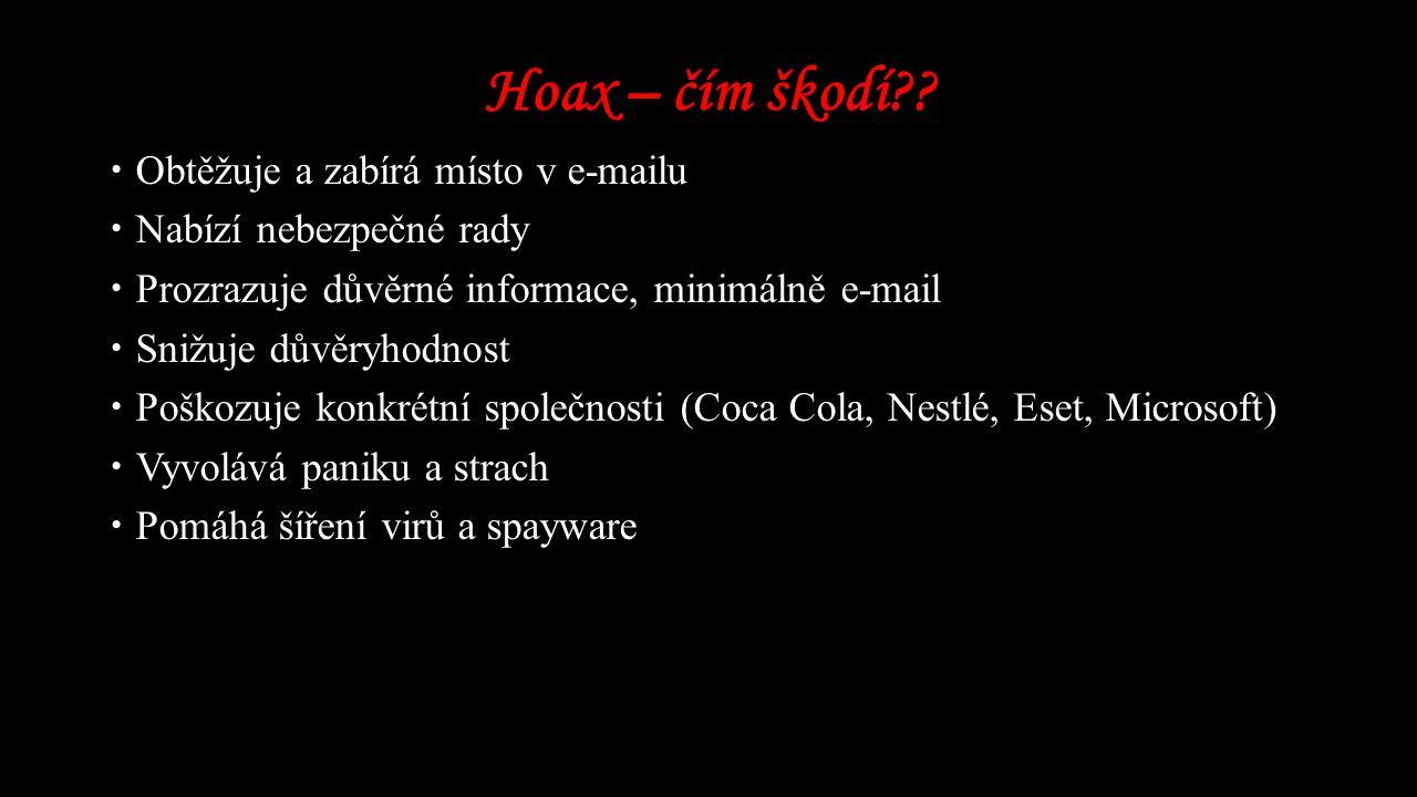 Hoax – čím škodí?.