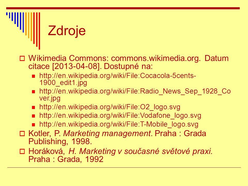 Zdroje  Wikimedia Commons: commons.wikimedia.org.