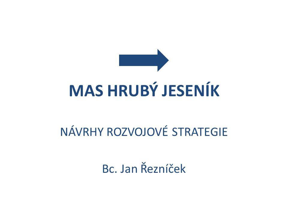 MAS HRUBÝ JESENÍK NÁVRHY ROZVOJOVÉ STRATEGIE Bc. Jan Řezníček