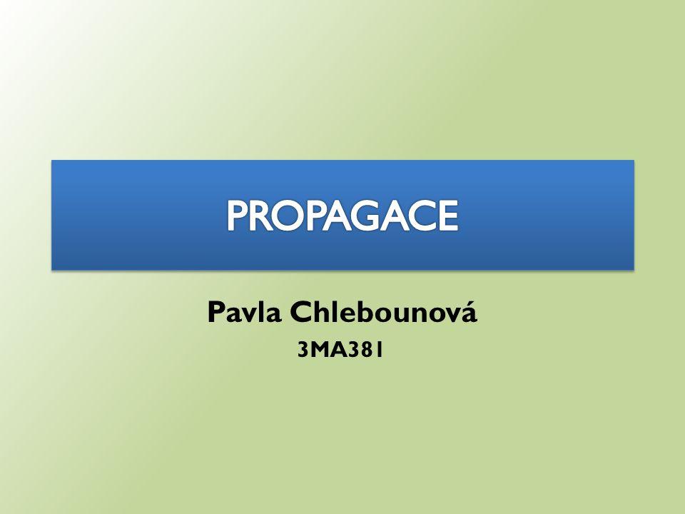Pavla Chlebounová 3MA381