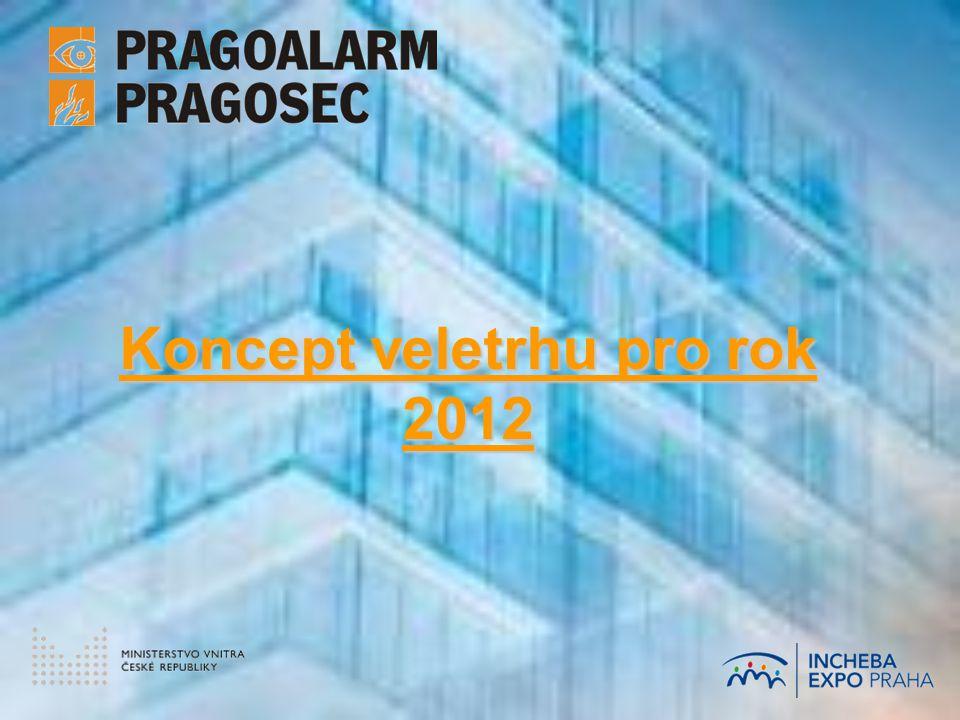 VELETRH PRAGOALARM/PRAGOSEC 2012 zabezpečení staveb a stavenišť, protipožární ochrana, systémy pro inteligentní budovy Koncept vychází z dosavadní podoby a spolupráce s tradičními odbornými a mediálními partnery… … přesto bude … přesto bude mnohé jinak!