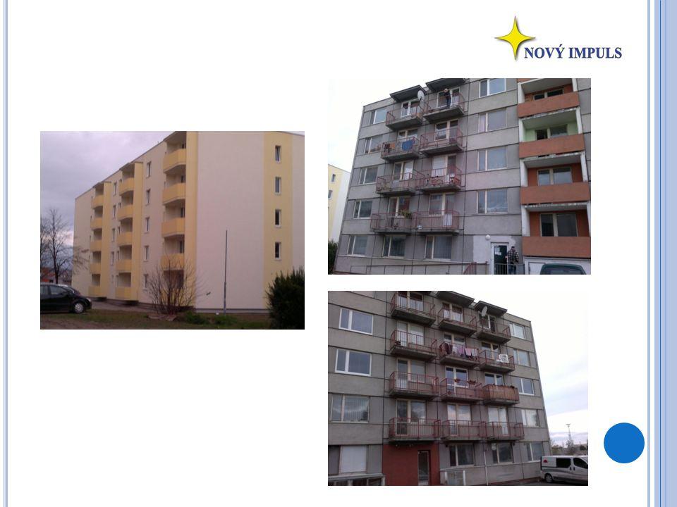 Ú DAJE OD MAJITELE přízemí 6 bytů 1.patro12 bytů 2.
