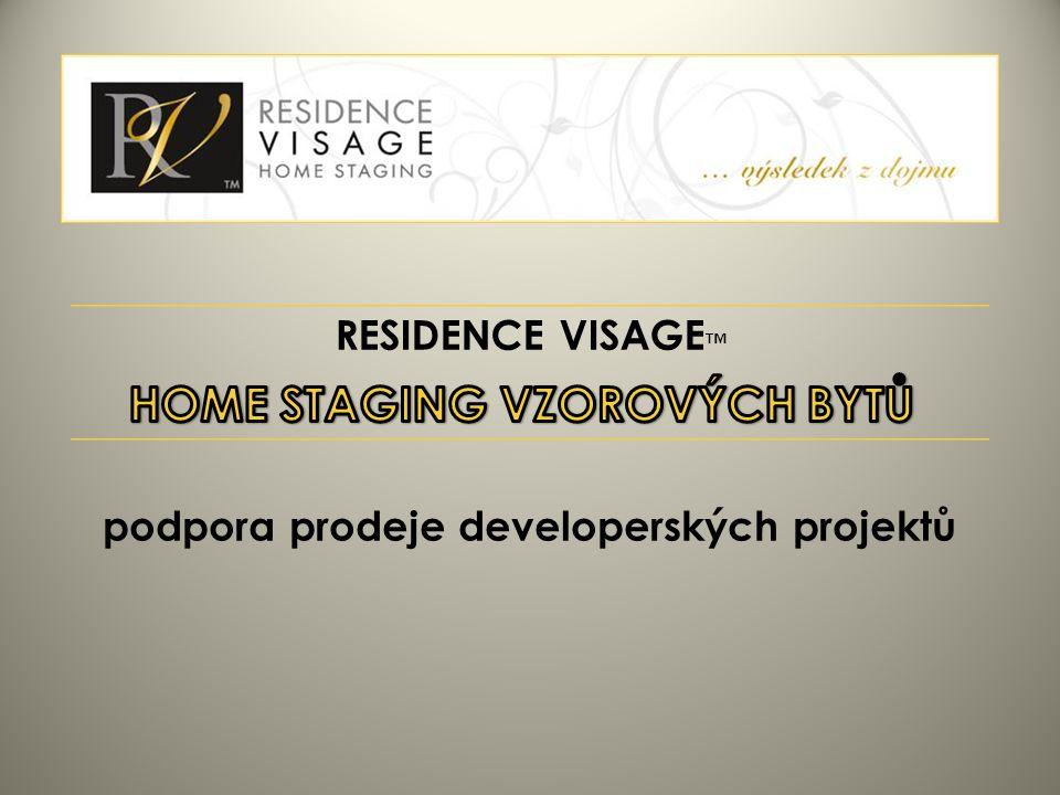 RESIDENCE VISAGE ™ podpora prodeje developerských projektů
