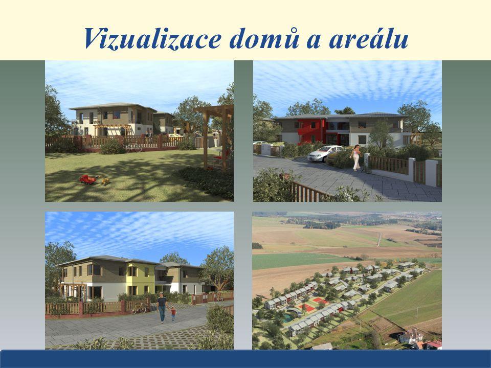 Vizualizace domů a areálu