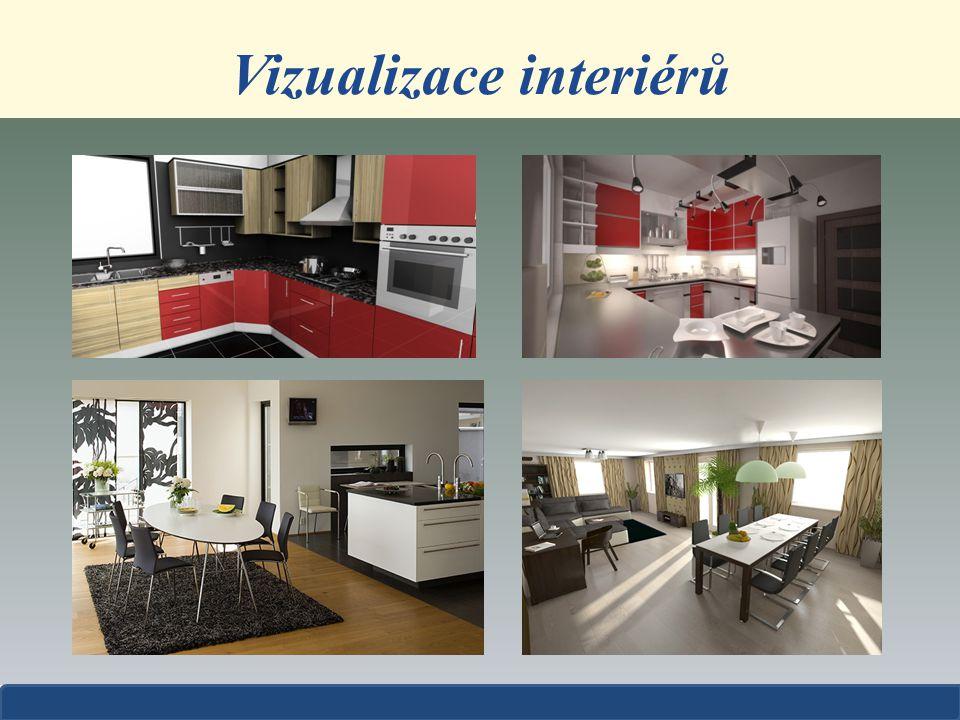 Vizualizace interiérů