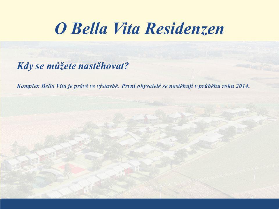 Kdy se můžete nastěhovat? Komplex Bella Vita je právě ve výstavbě. První obyvatelé se nastěhují v průběhu roku 2014. O Bella Vita Residenzen