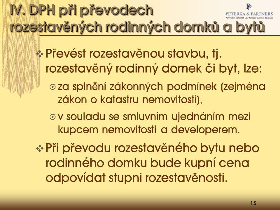 15 IV.