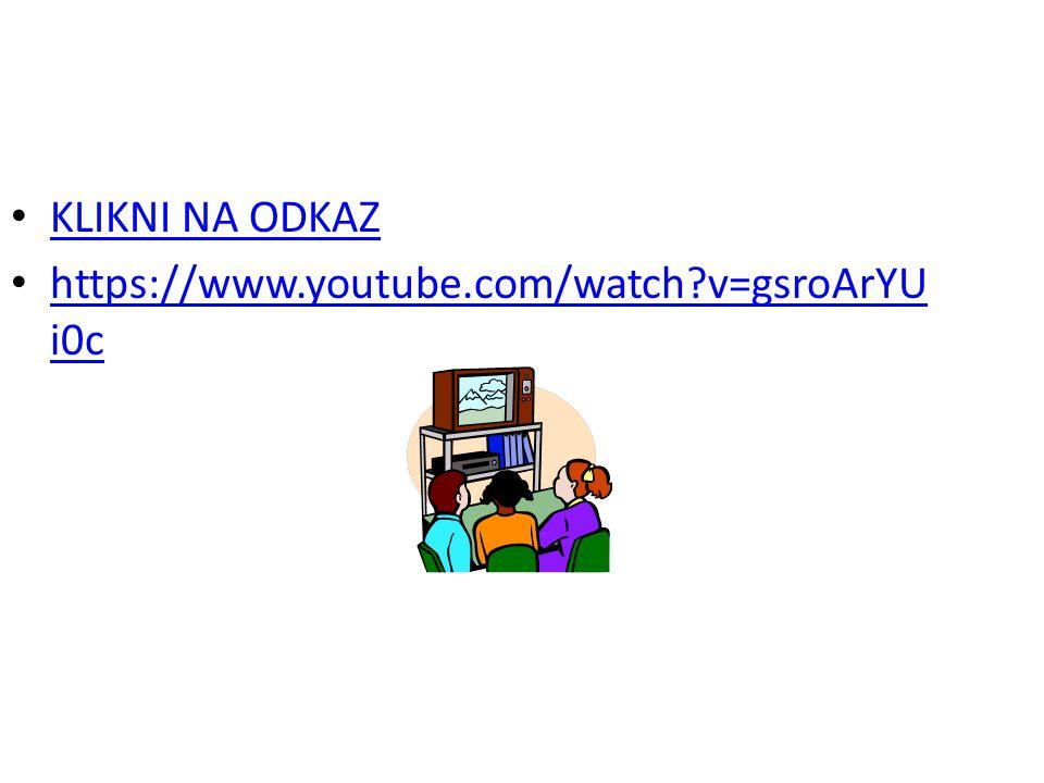 KLIKNI NA ODKAZ https://www.youtube.com/watch?v=gsroArYU i0c https://www.youtube.com/watch?v=gsroArYU i0c