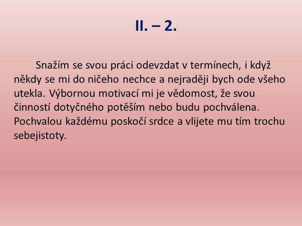 II.– 2.