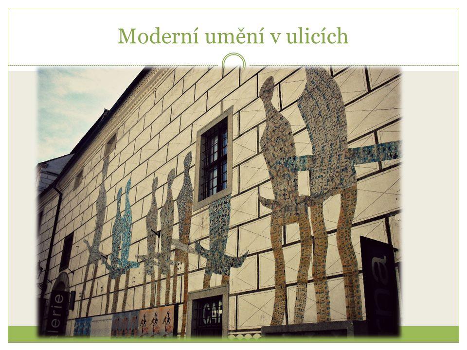 Moderní umění v ulicích