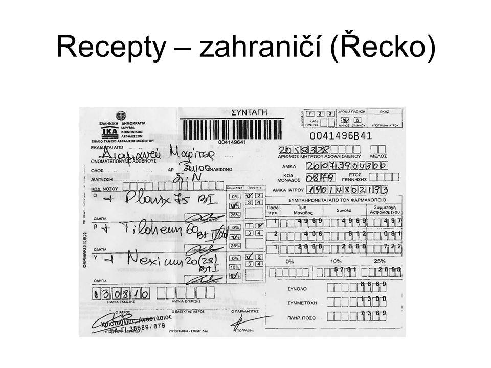 Recepty – zahraničí (Řecko)