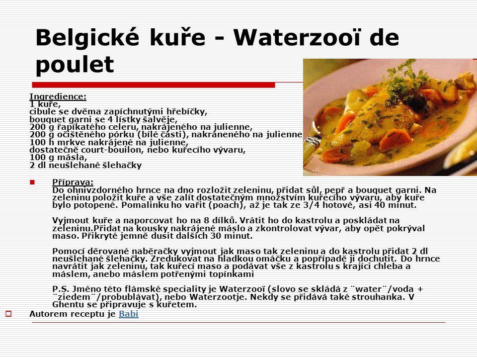 http://slovnik.vareni.cz/ Julienne  krájení zeleniny  Zelenina krájená na velmi jemné proužky Bouquet garni  Francouzský výraz pro svazek koření, který se balí do mušelínu.