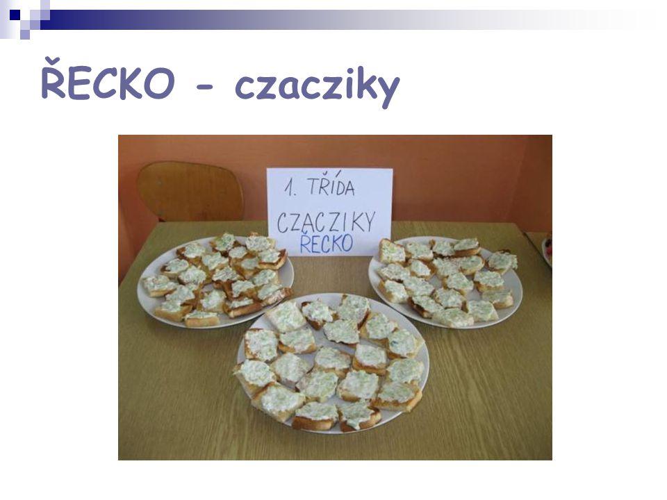 ŘECKO - czacziky
