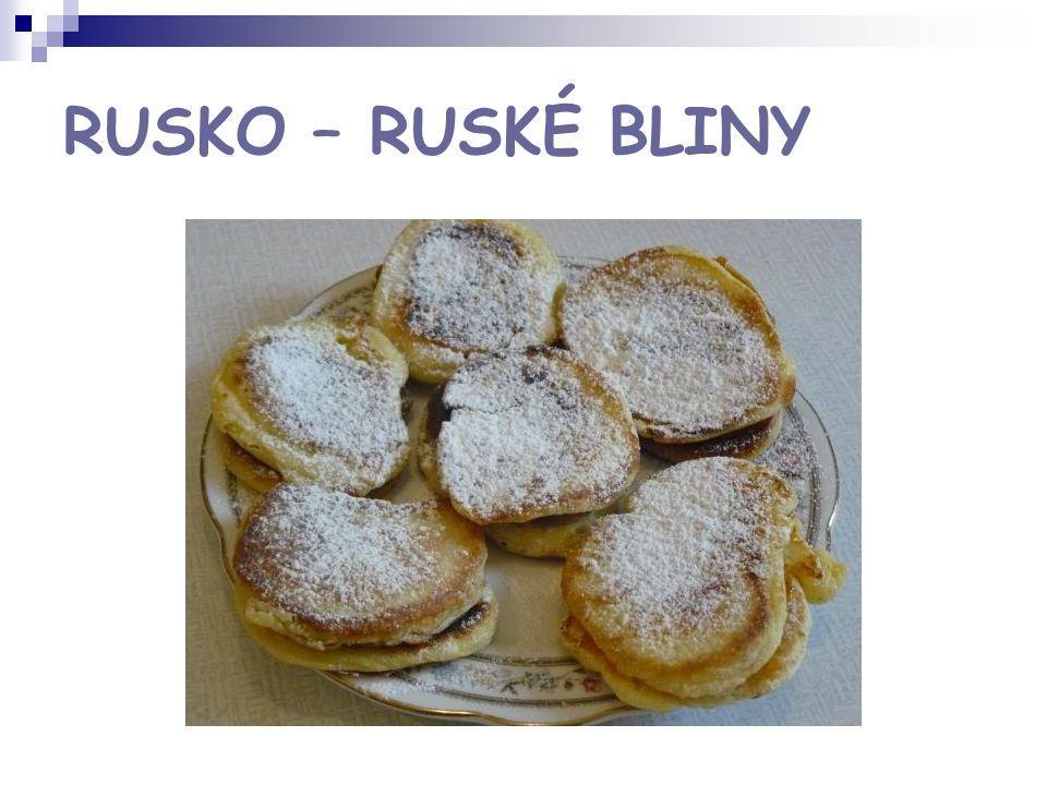 RUSKO – RUSKÉ BLINY