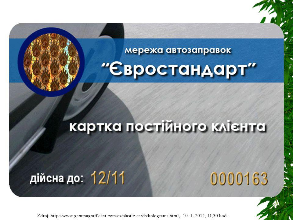 EMV čip  kontaktní plošky na kartě umožňují elektronický přístup k čipu  Velikost od 3 do 5 mm
