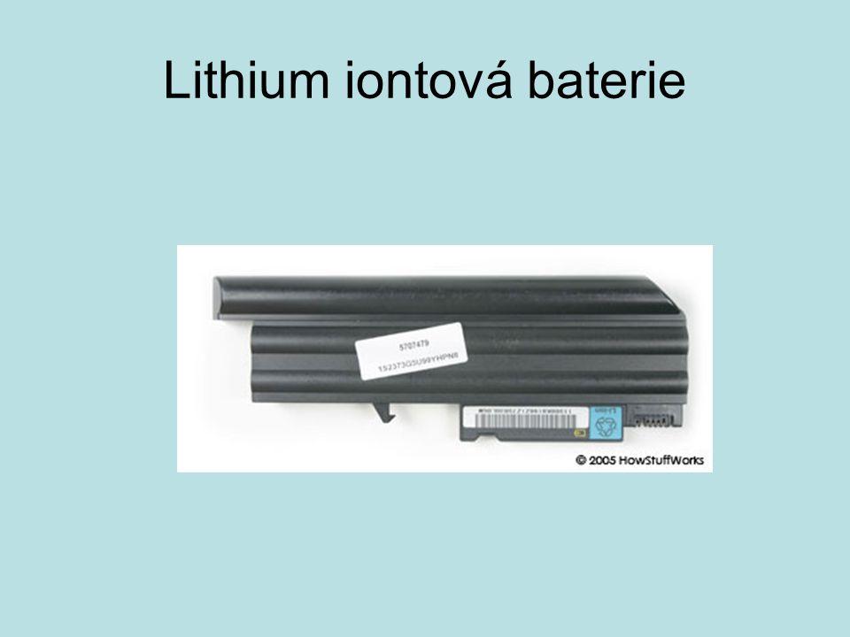 Lithium iontová baterie