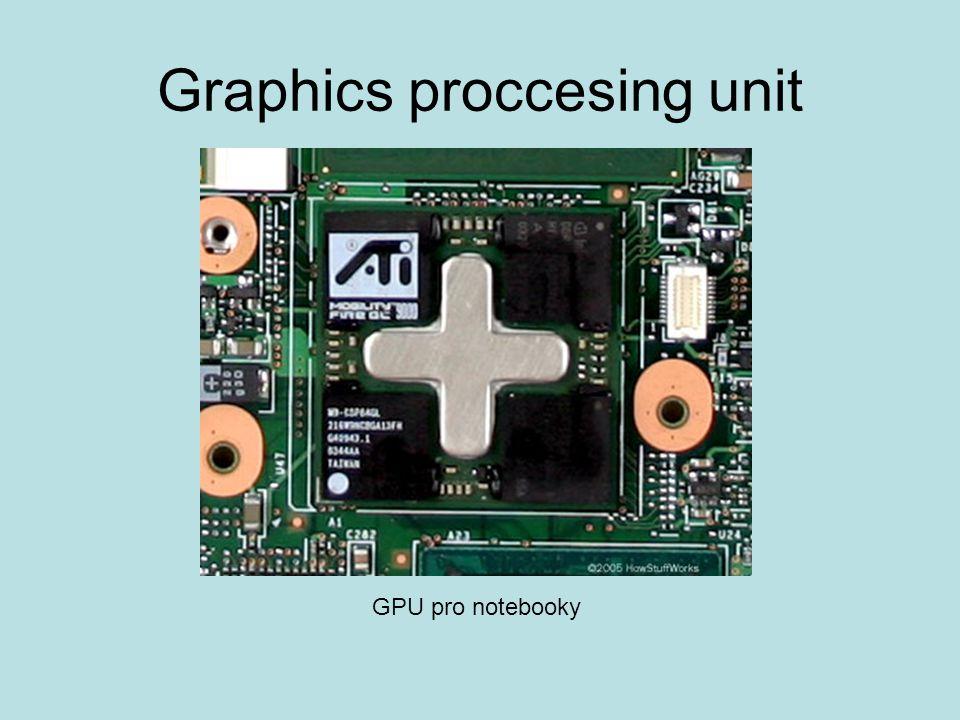 Graphics proccesing unit GPU pro notebooky
