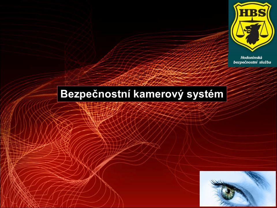 Bezpečnostní kamerový systém Hodonínská bezpečnostní služba