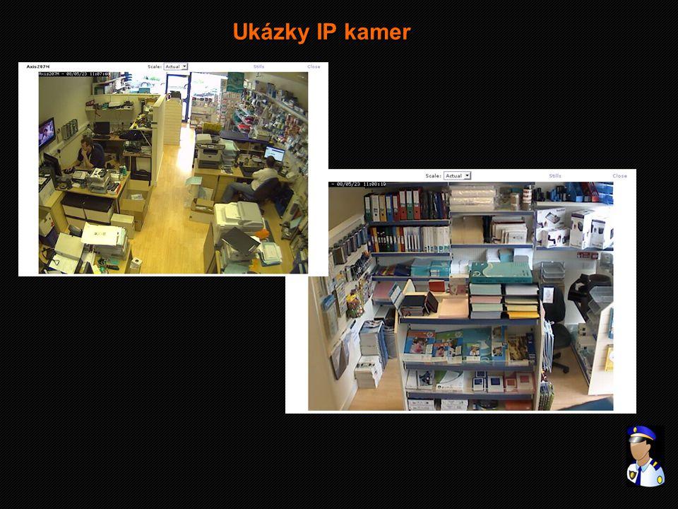 Ukázky IP kamer