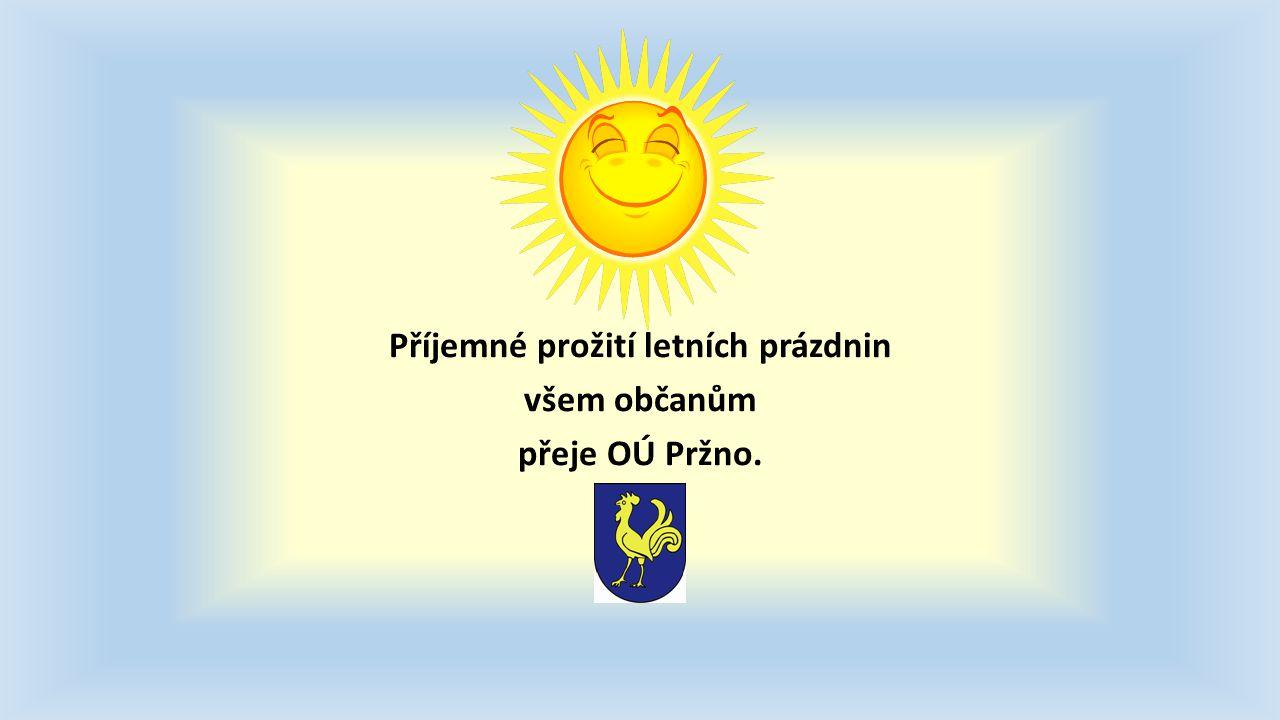 Pošta v Pržně bude mít prázdniny!!.Od 18.8. do 29.8.