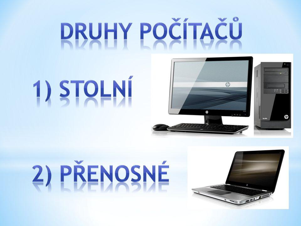 Počítač není jen to PC co máte před sebou Počítače jsou všude kolem nás o Například i v ledničce, pračce… (ty nás ale nezajímají) o Budeme se zajímat o počítače – zařízení, které nám umožňuje instalovat PROGRAMY A těch je daleko více druhů než na předchozím snímku.